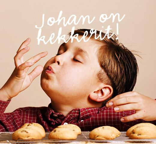 Johan on kekkerit!